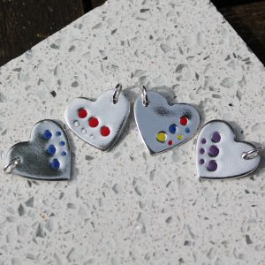 Dotty Colours Charms
